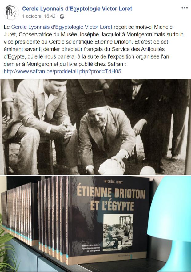 @ Cercle Lyonnais d'Égyptologie Victor Loret